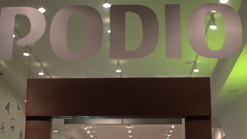 Virtual office startup Podio opens pop-up store celebrate launch [Video]