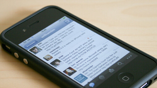 Teewee is identical Twitter for iPhone… without the Quickbar