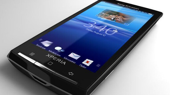 Sony Ericsson Xperia X10 to get official Gingerbread update