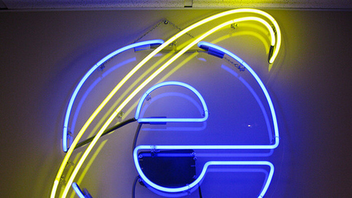 The decline of Internet Explorer 8 is already underway
