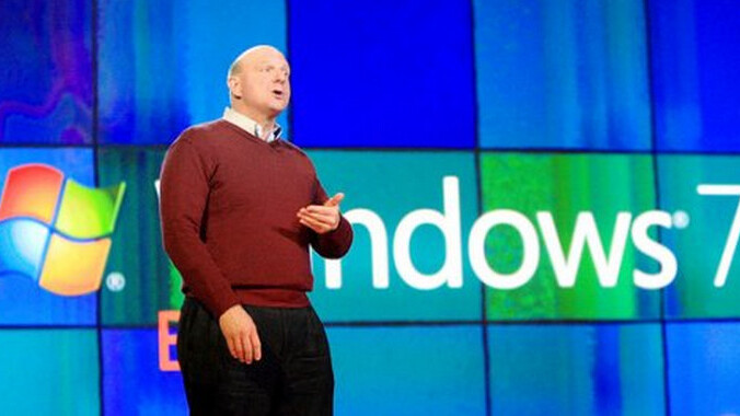 Microsoft sells 350 million copies of Windows 7 in 18 months