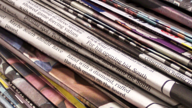 Marvia.ads is like Adsense but for newspapers and magazines