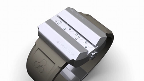 The Hapitca Braille watch for the blind: Beautiful, simple, inspiring [Video]