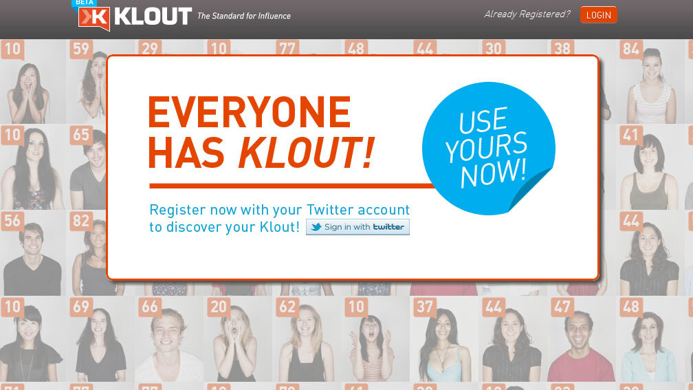 A sneak peek at the new Klout redesign