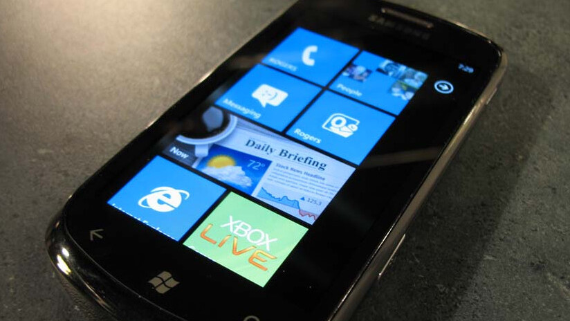 IE9 for Windows Phone 7 now code complete