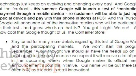 Google Wallet NFC payment system to launch tomorrow