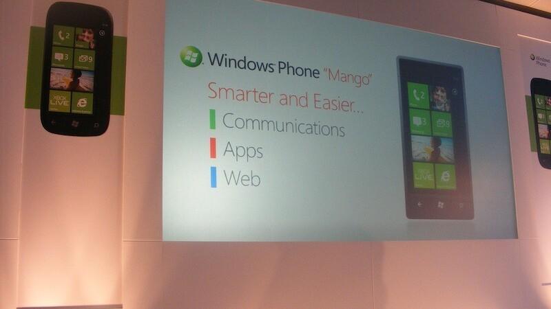 Microsoft announces three Windows Phone vendors: Acer, Fujitsu and ZTE