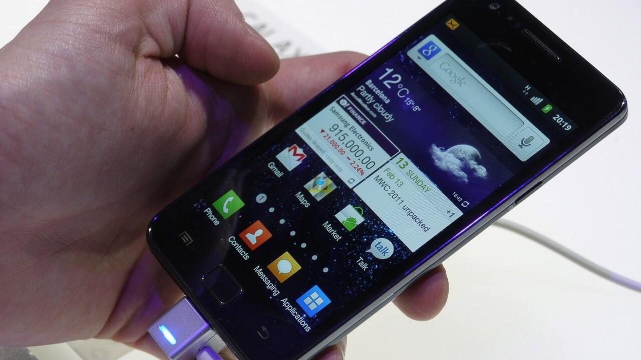 Samsung Galaxy S II pre-orders eclipse 3 million units worldwide