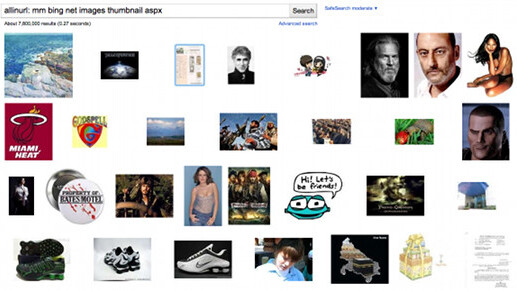Oops, Google indexing millions of Bing image search thumbnails [Updated]