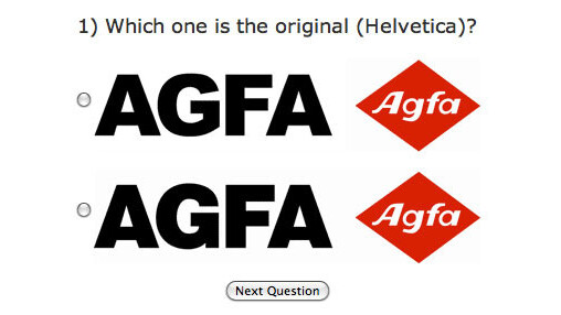 Can you tell Arial from Helvetica? Put it to the test.