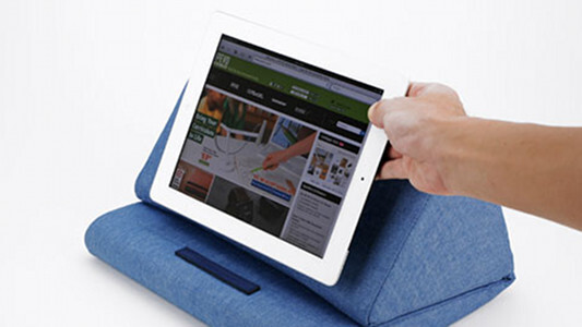 This iPad cushion may not be a looker, but it's built for comfort