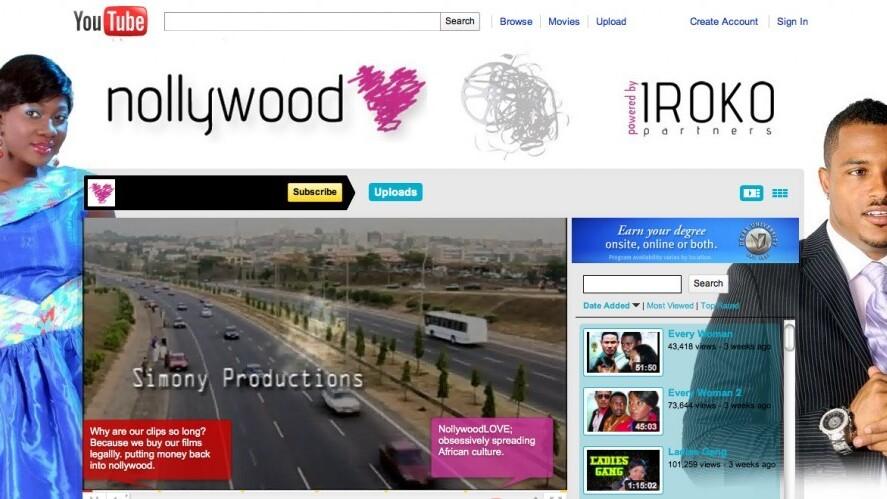 Nigeria's movie industry goes digital