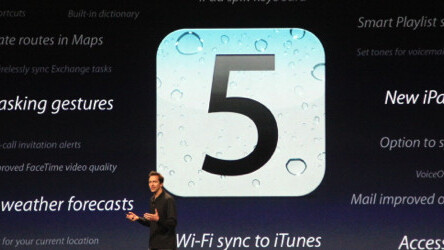 With iOS 5, Apple shows that it isn't afraid of better web apps
