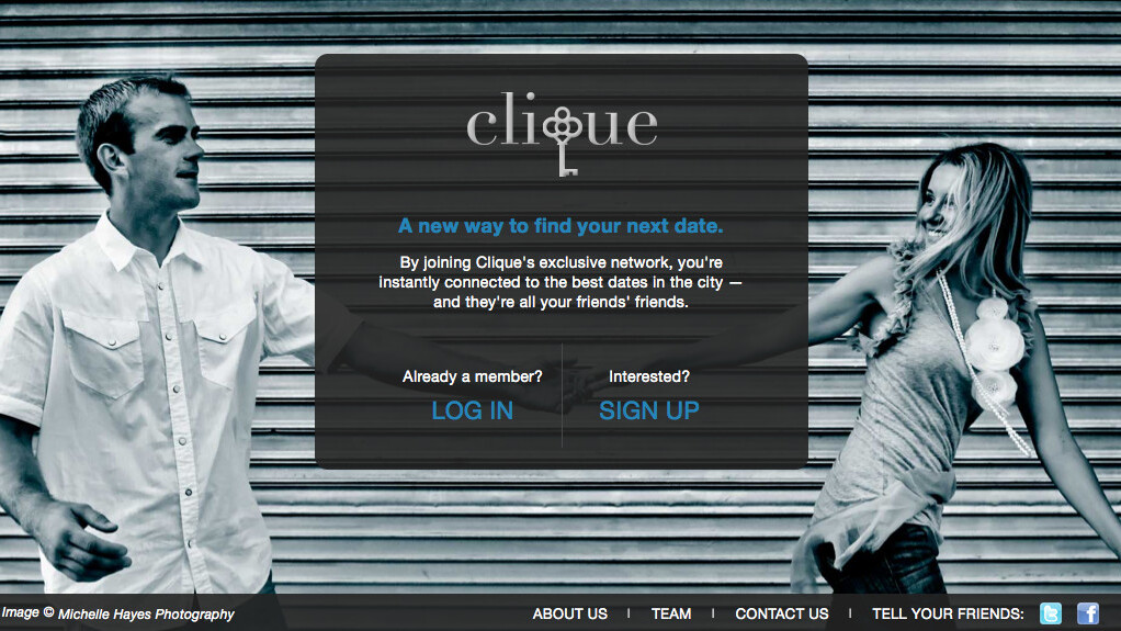 Interview: Clique, a dating site Facebook should be jealous of
