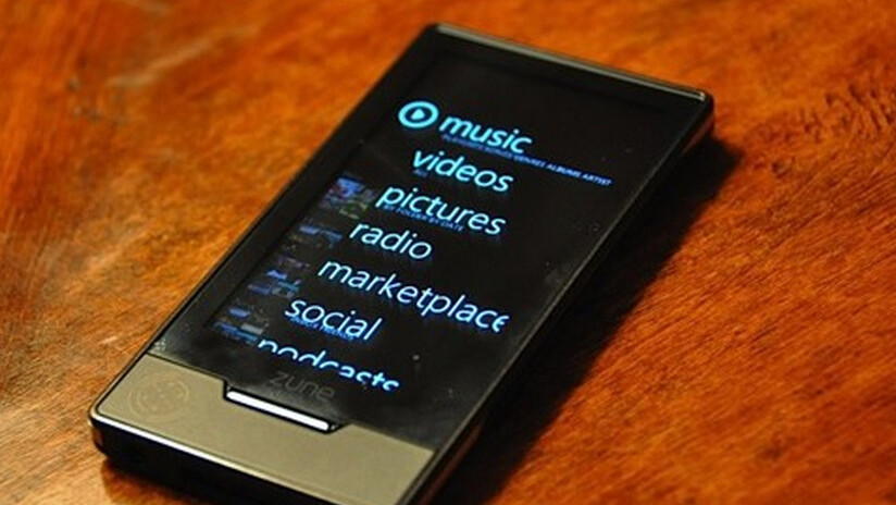 Microsoft to port Zune HD apps to WP7
