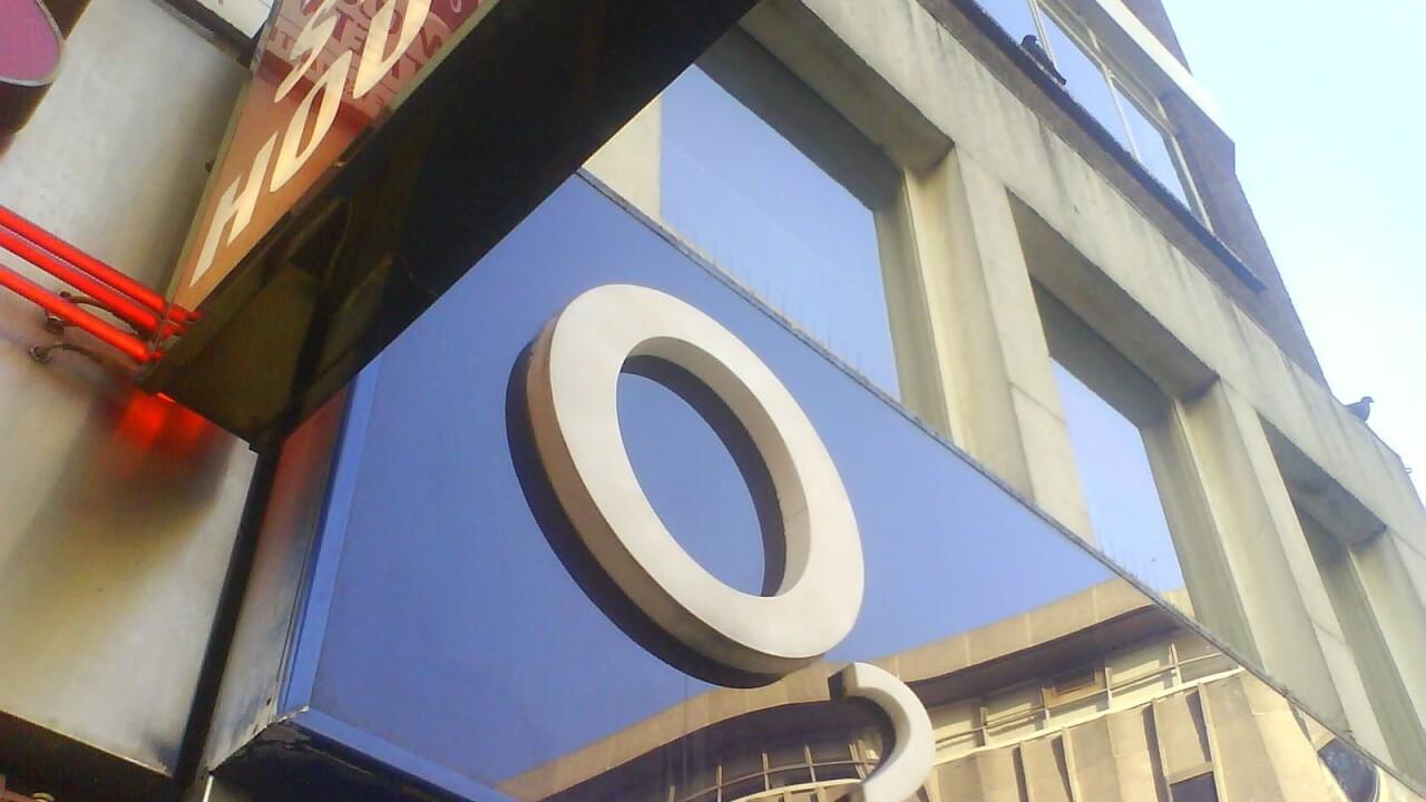 O2 network down again in London