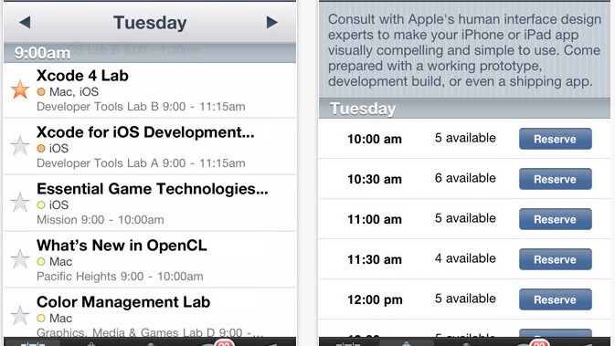 Apple releases its official WWDC 2011 app (for attendees only)