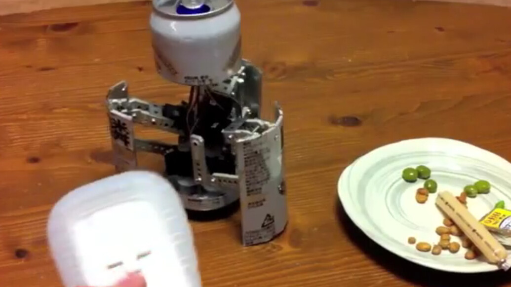 Meet CanBot: The Robotic Beer Can Transformer