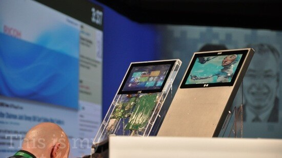 Could it be? Windows 8 running on a tablet? [Pic]