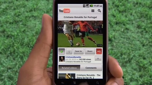 YouTube in talks with operators, handset manufacturers to optimize mobile video streaming
