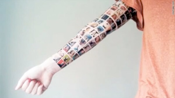 Tattoo of 152 Facebook friends is just a hoax