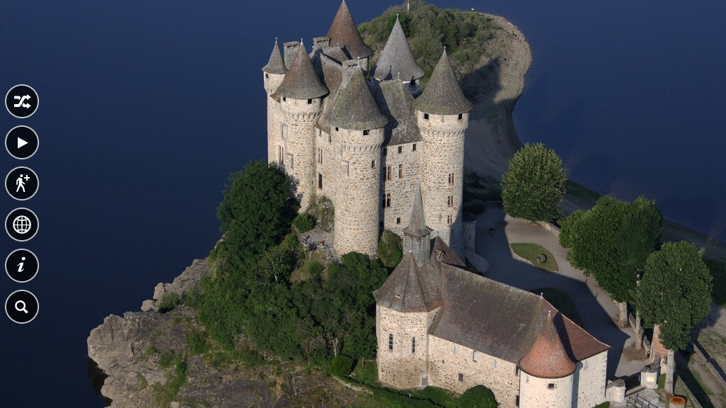 National Geographic Traveler's new app: Above France