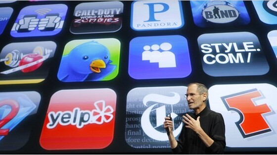 Apple users are still hungry for apps, sales up 61% on 2010