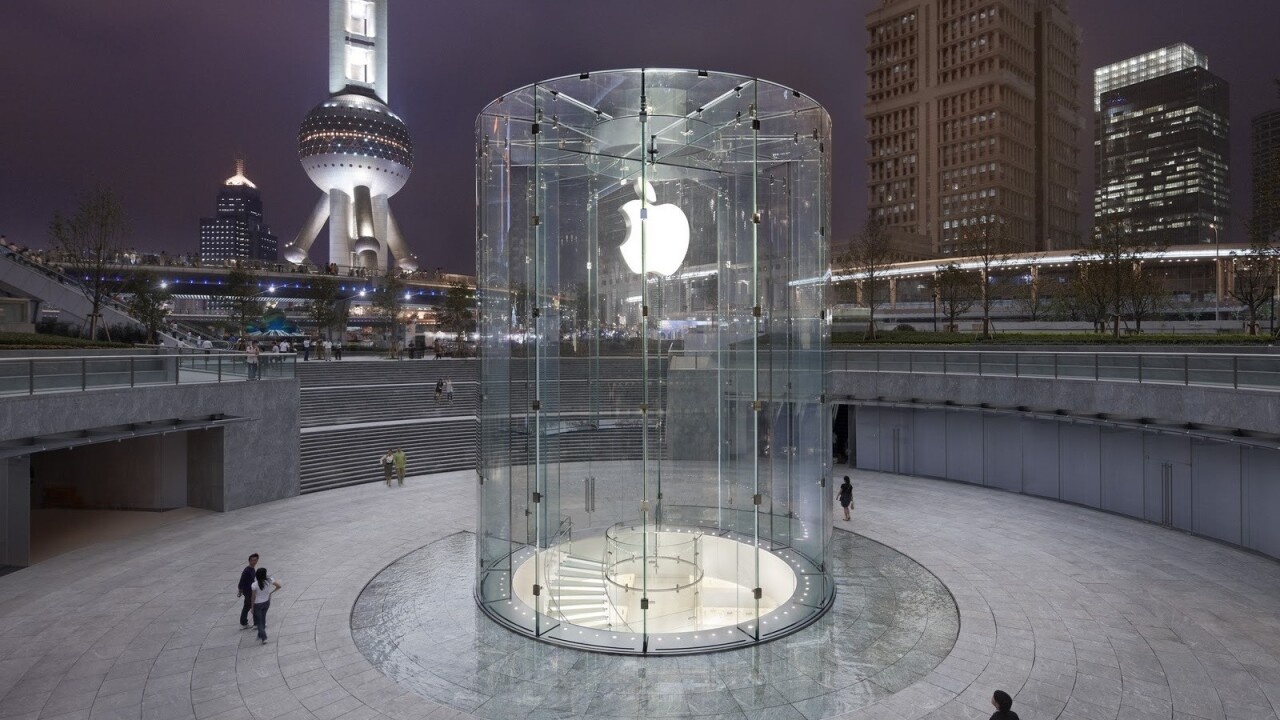 Apple reportedly boosting Chinese presence with first Chengdu stores