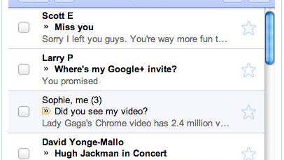 Google adapts the mobile Gmail experience to iGoogle gadget