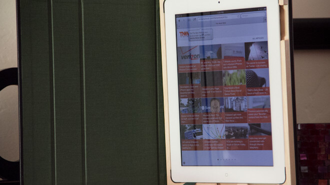 This gorgeous case for the iPad 2 sets the bar high, very high