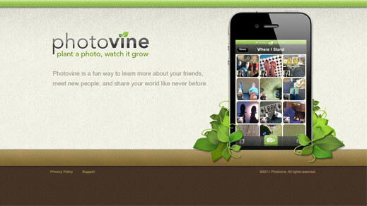 Google's mysterious Photovine website is live, and it looks like a social photo-sharing service