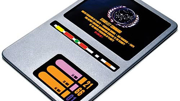 Want to turn your iPad into a PADD from Star Trek? I thought so.