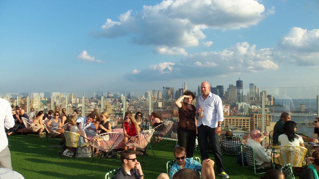 New York City's top 10 beer gardens and rooftops on HopStop