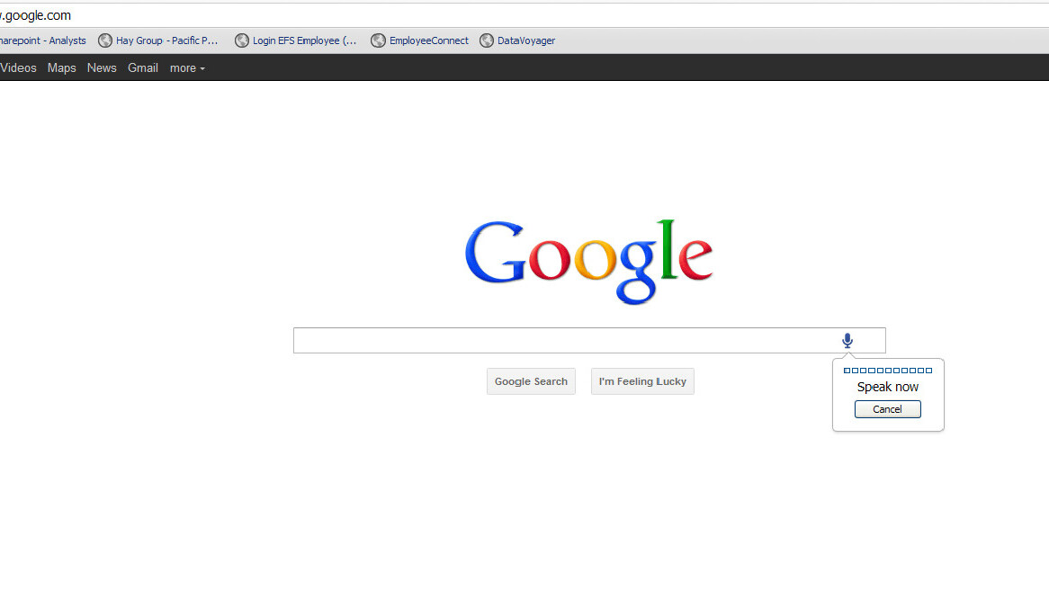 Google testing voice search for web internationally. Here's how you can try it now