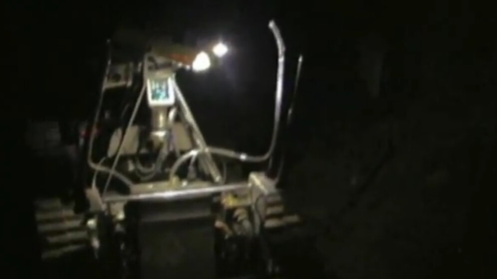 This robot will help rescue trapped miners (and he looks just like Wall-E!)