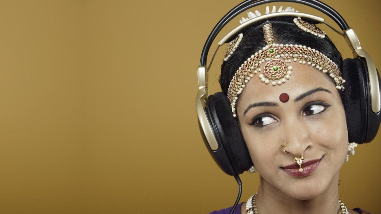 Gaana.com brings Indian music to the iPad with a slick Web app