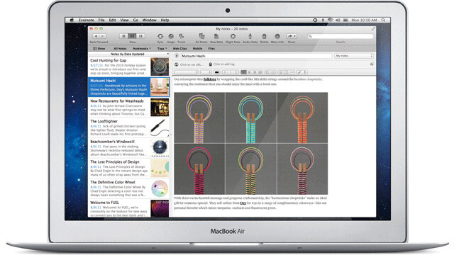 Evernote 3.0 for Mac OS X Lion is Here