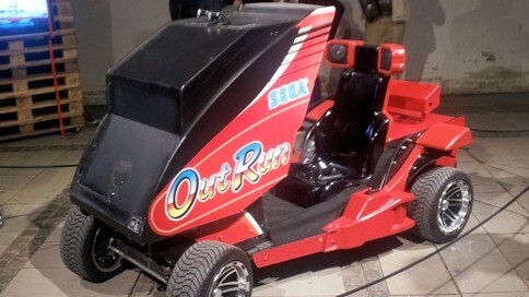 Here's an arcade game you can drive, REALLY drive [Video]