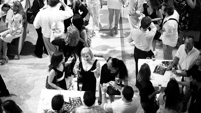You must have a Klout score of 40 or more to get into this Fashion's Night Out party