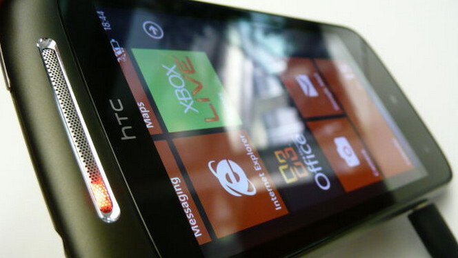 The HTC Mozart's build of Windows Phone 7.5 has leaked