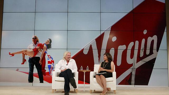 Virgin Founder Richard Branson says thumbs up to social media