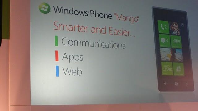 Microsoft says Windows Phone Mango coming to Taiwan on September 16