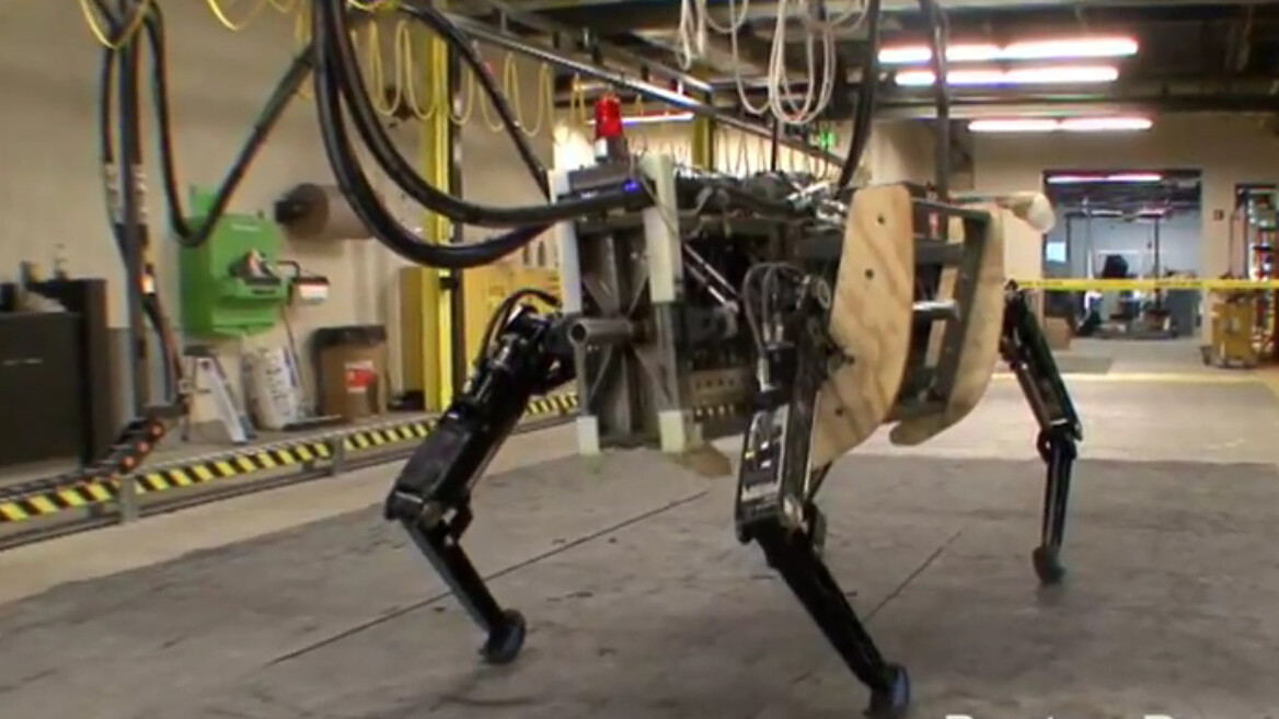 Meet AlphaDog, Boston Dynamics' scary brute robot