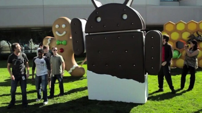 Google and Samsung unveil the Galaxy Nexus and Android 4.0 – 4.65 inches, 1.2 GHz, 5 MP camera