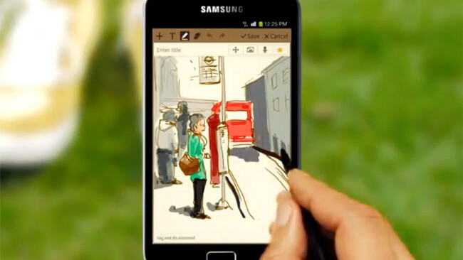Samsung's new Galaxy Note advert: Is it a tablet or a smartphone? [Video]