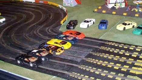 Now THIS is the future: Mind-powered Scalextric slot car racing