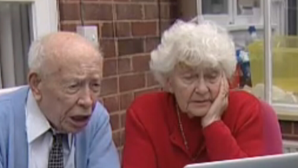 It's never too late: 104 year old man learns to use Twitter.