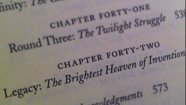 Steve Jobs' Biography has 42 Chapters. Coincidence? I think not.