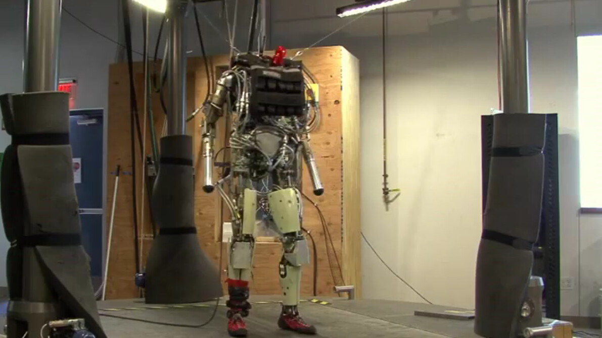 Meet PETMAN, an anthropomorphic robot that walks, squats and sweats