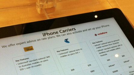 As Australian buyers pick up iPhone 4S pre-orders, carrier server issues rear their heads again